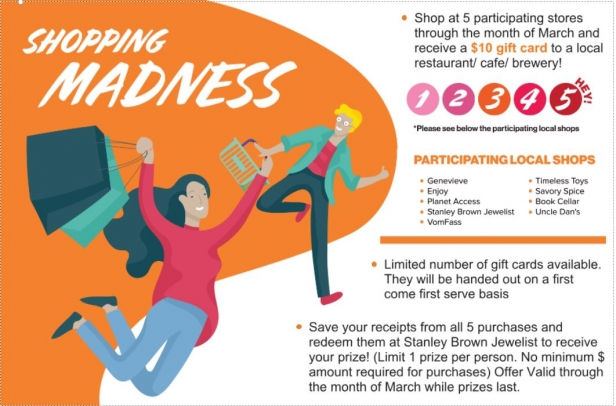 March Shopping Madness!